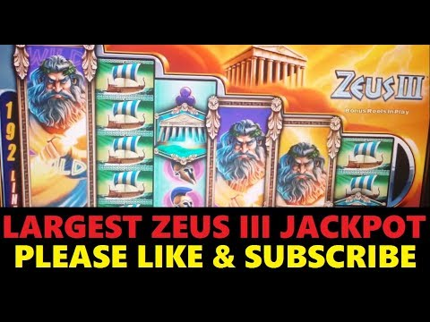3 Different Zeus Slot Machines Live Play Las Vegas Doovi
