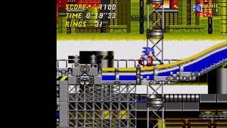 "Sonic 2 2013 - Chemical Plant 2: 34""68 (Speed Run)"