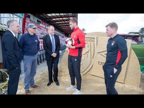Umbro announcement: Eddie Howe and Simon Johnson on new partnership