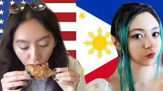Americans try Filipino Food |Chow King + Street Food+ Seafood City + 99 Ranch (Las Vegas)