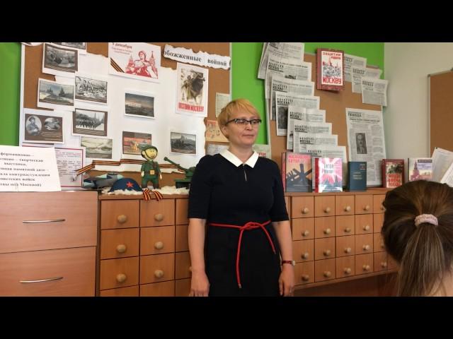 Изображение предпросмотра прочтения – ОльгаМиронова читает произведение «Дочка, знаешь ли ты...» Ю.В.Друниной