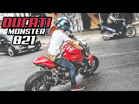 รีวิว Ducati Monster 821 ค่ายแดงสุดหล่อในใจใครหลายคน