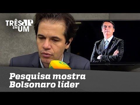 Pesquisa Mostra Bolsonaro Líder