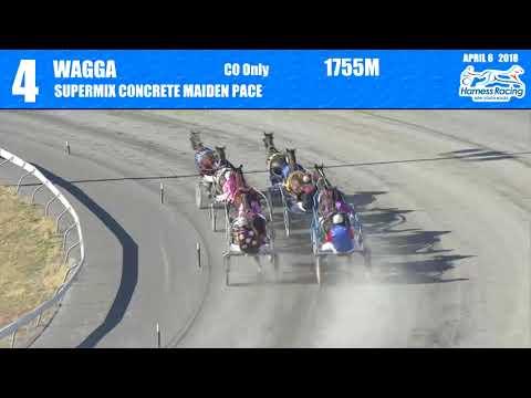 WAGGA - 06/04/2018 - Race 4 - SUPERMIX CONCRETE MAIDEN PACE