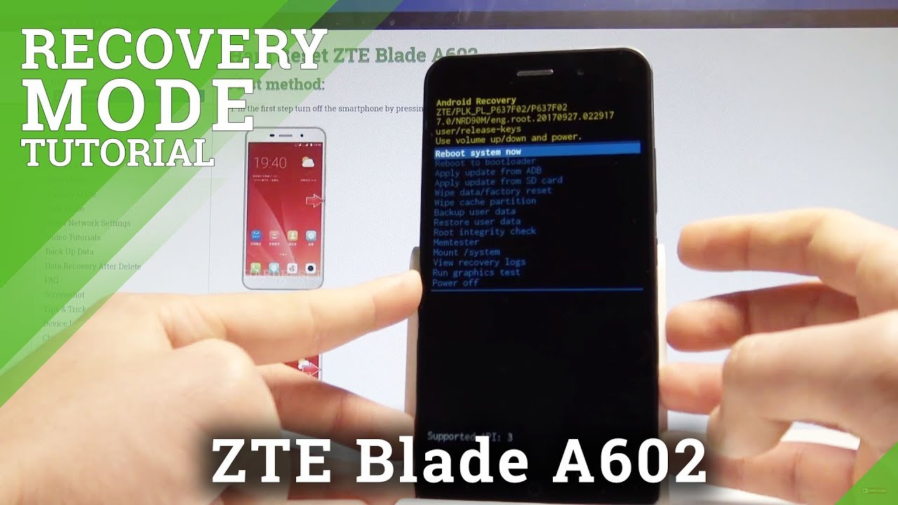 ZTE Blade Recovery Mode Videos - Waoweo