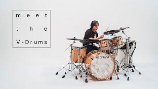 meet the V-Drums #01   VAD706 × 山木秀夫