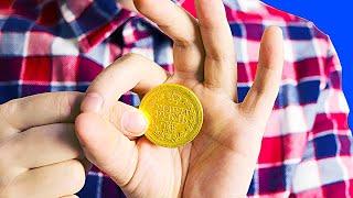 ПРОЩЕ ЭТОГО ФОКУСА С МОНЕТОЙ Я НЕ ЗНАЮ / Исчезновение монеты
