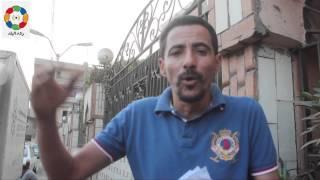 من أجل الوظيفة.. مواطن يهدد بالانتحار أمام ديوان محافظة بني سويف
