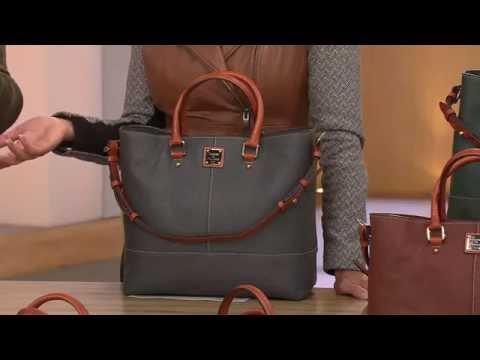 Dooney & Bourke Pebble Leather Chelsea Shopper with Lisa Robertson