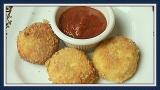 Fried Goat Cheese :  Low Carb, Gluten Free, and Wonderful