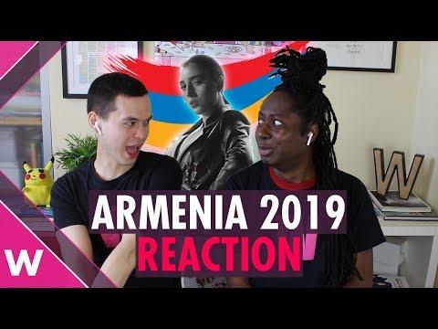 Armenia   Eurovision 2019 REACTION Video   Srbuk