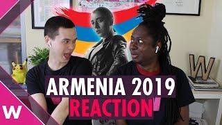 "Armenia | Eurovision 2019 REACTION video | Srbuk ""Walking Out"""