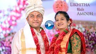 likhitha amogh wedding promo