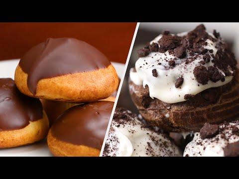 5 Creative Cream Puff Recipes •Tasty