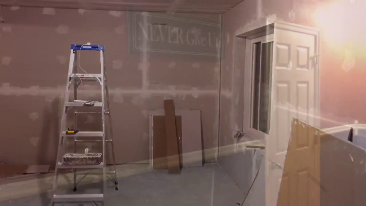 DIY Home Recording Studio From Unfinished Basement