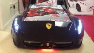 Boys Racing Car Bed - Trendy Living