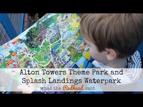 Alton Towers Theme Park and Splash Landings Waterpark