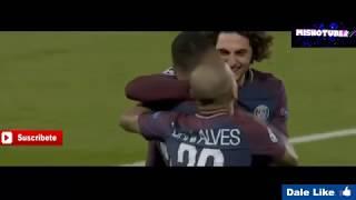 PSG vs Anderlecht 5-0 RESUMEN JUGADAS Y GOLES -Champions League 31/10 /2017