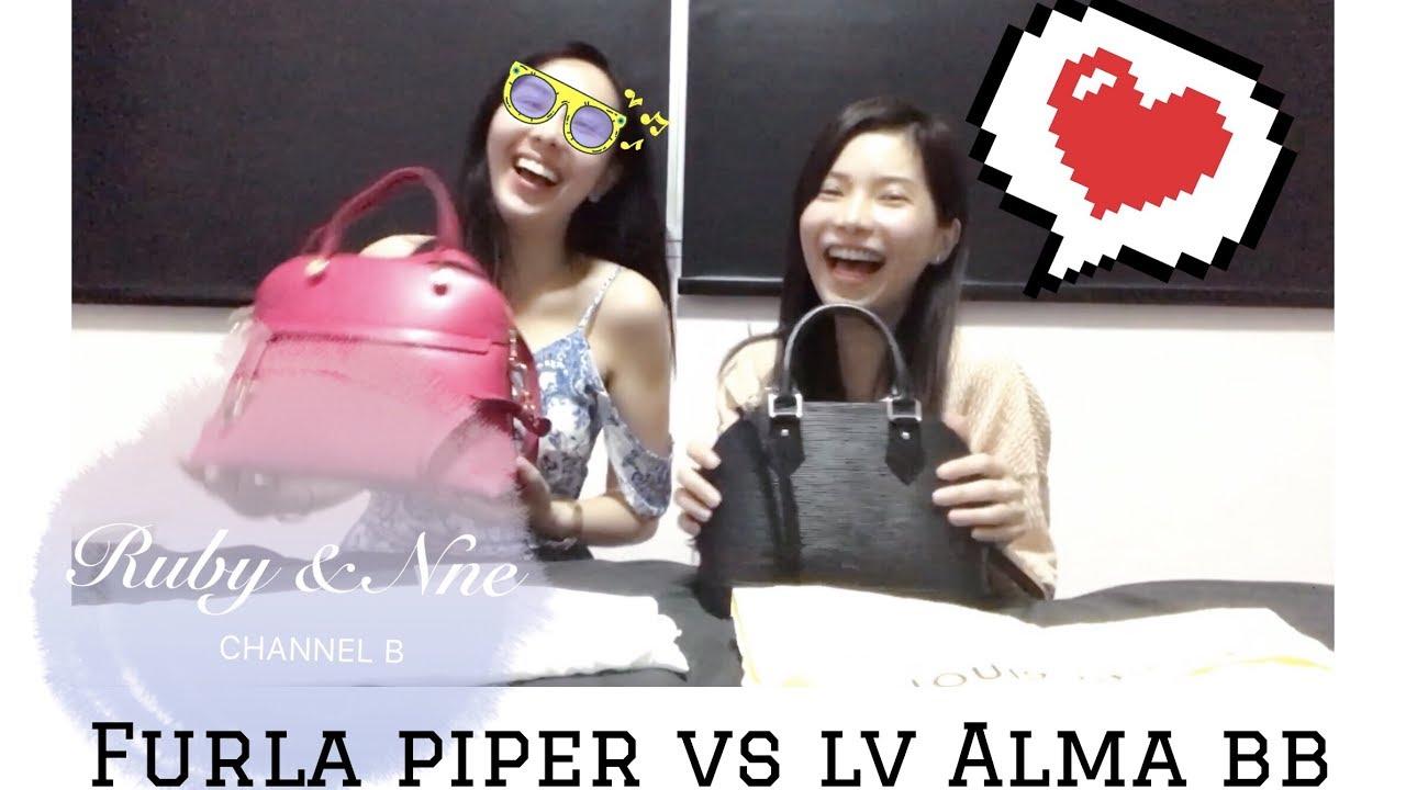 Furla Piper Small Vs Louis Vuitton Alma Bb Epi Top Handle Bags Agata Comparison