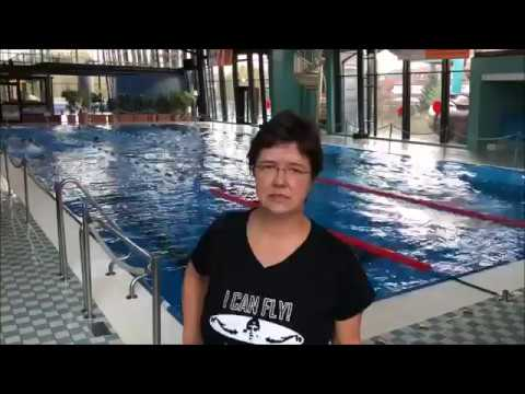 Trainerin (57) schwimmt 2000m Schmetterling | 2000m butterfly | Trainer Challenge 2017