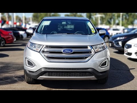 Ford Edge Review! 2017 Ford Edge SEL Complete Walkaround!