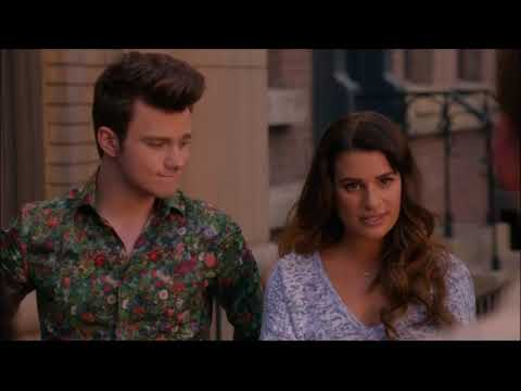 Glee - Sam Sees His Picture At The Side Of A Bus And They All Agree To Meet Up In 6 Months 5x20