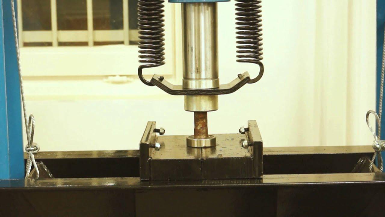 lincos tl0500 6 pressa idraulica per officina 50t youtube