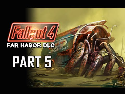 Fallout 4 Far Harbor DLC Walkthrough Part 5 - Hermit Crab (PC Ultra Let's Play)