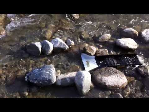 Gold Prospecting Southern California (secret location) How To Find Gold Nuggets with a Sluice