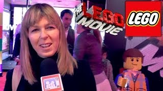 The Lego Movie Premiere -- Kate Garraway Talks Video-Games and TV Tips
