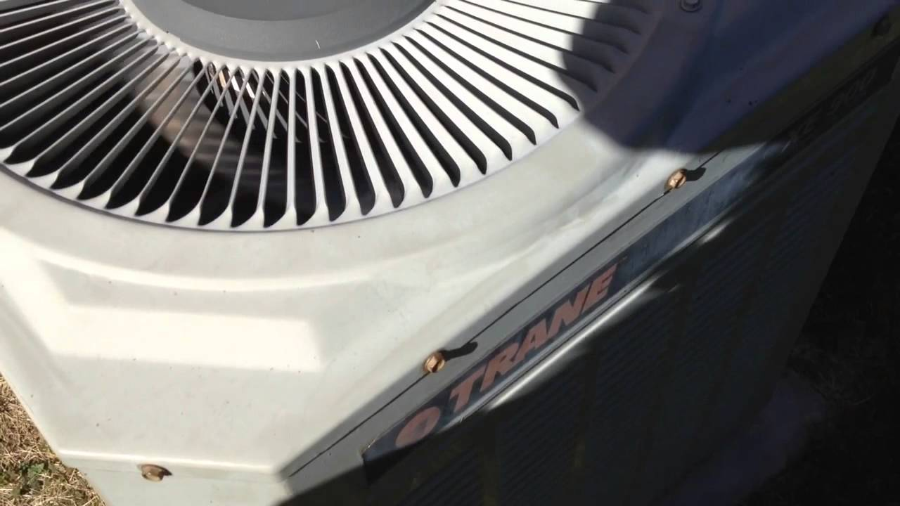 1991 Trane Xe 900 Air Conditioner - 6  20  14