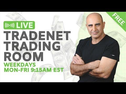 Meir Barak - Tradenet Day Trading Academy Livestream