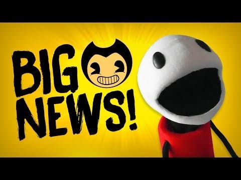 BIG BENDY NEWS! :D | Bendy and the Ink Machine