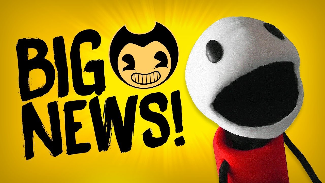 BIG BENDY NEWS! :D | Bendy and the Ink Machine