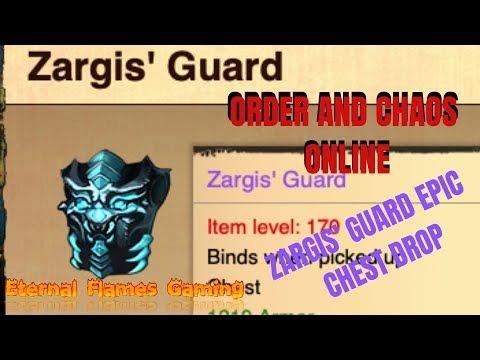 Order And Chaos Online | SPL Zargis' Guard Epic Chest Drop