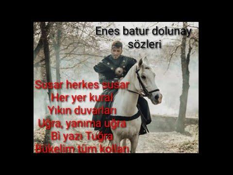 Enes Batur Dolunay Karaoke Lyrics Altyazili Youtube