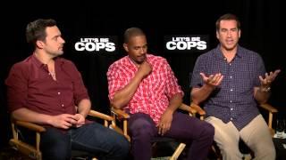 Let's Be Cops - Jake Johnson, Damon Wayans Jr., Rob Riggle   Empire Magazine