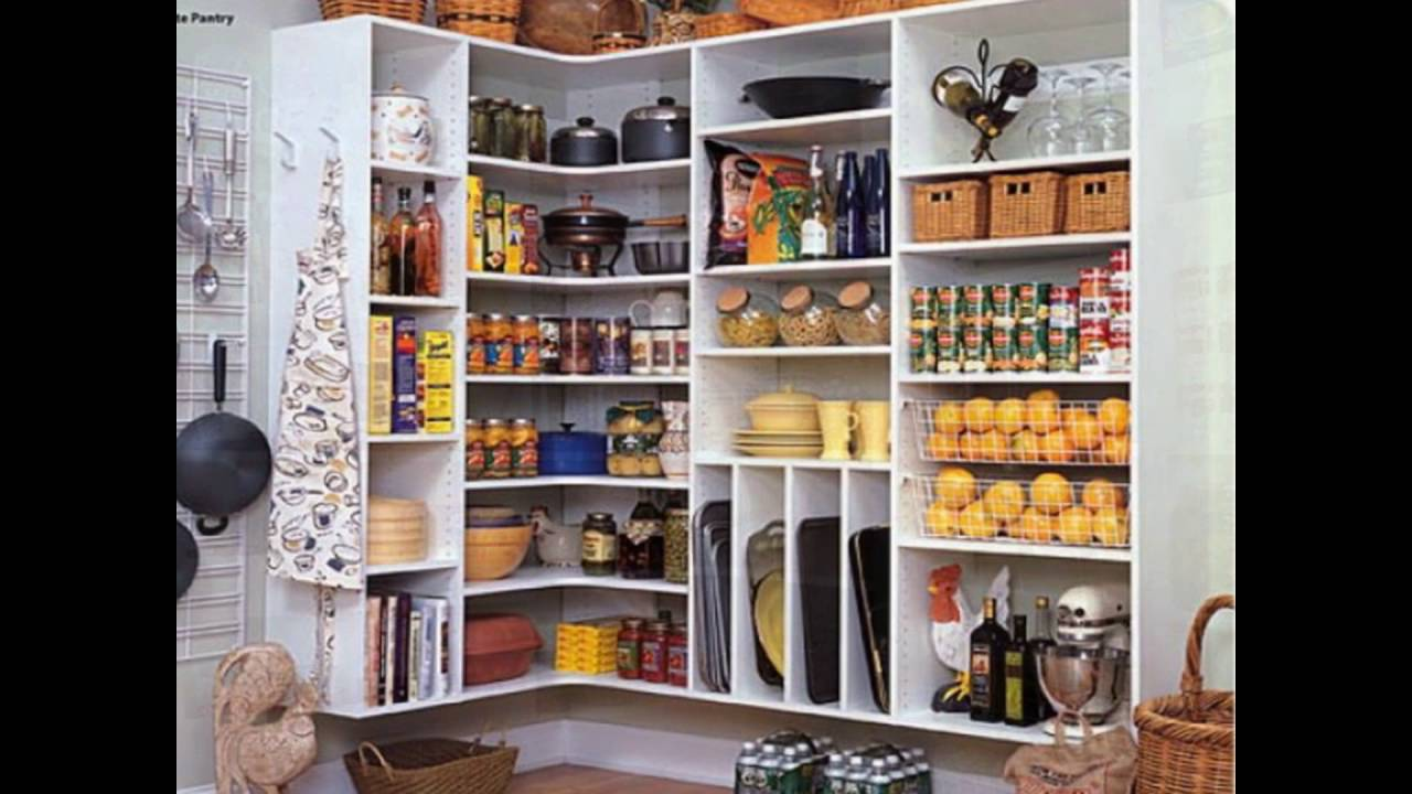 Kitchen Closet Shelving Kitchen Pantry Closet Organizers Youtube