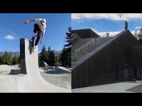 Just Crazy Tricks (Skateboarding Tricks, Fun Moments, Fails, Wins)