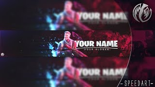 [FREE] Fortnite Banner Template - Speedart - Astary [7] + MERRY CHRISTMAS!!!