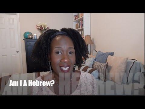 Am I A Hebrew? Are Black Americans Hebrews?   Black and Natural in Jerusalem #263