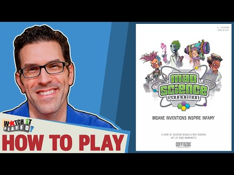 Mad Science Foundation - How To Play