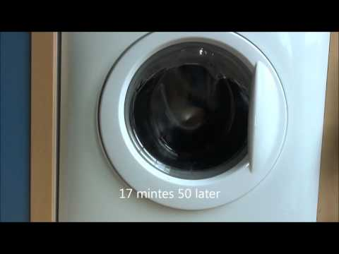 Zanussi Aquafall ZWHB7160 : Easy Iron 30'c (complete cycle)