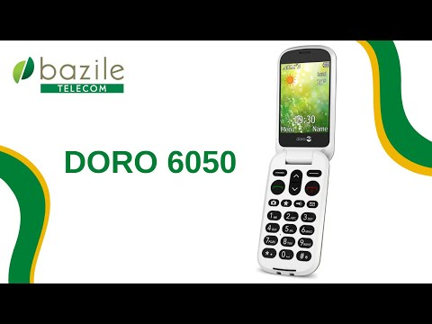 Doro 6050 présenté par Bazile Telecom