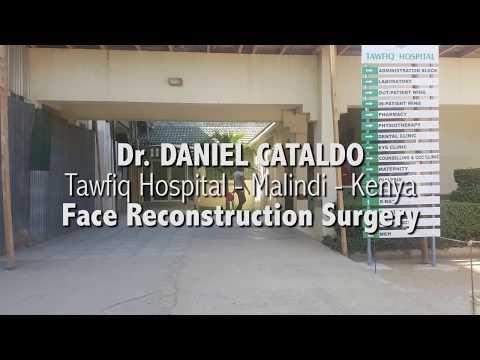 Face Reconstruction Surgery - Tawfiq Hospital - Malindi - Kenya