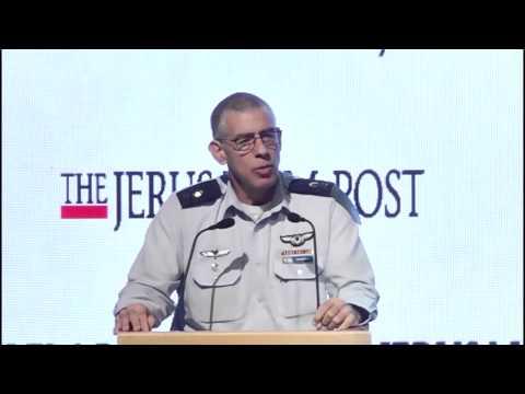JPost Diplomatic Conference - Major General Nimrod Sheffer