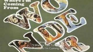 Stevie Wonder - I Wanna Talk To You
