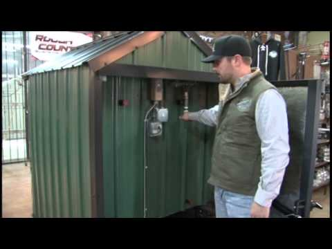 Earth Outdoor Furnace Pump Installation YouTube