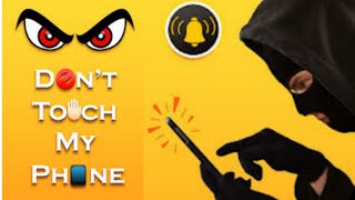 Don't Touch My Phone 😠😠 Best Mobile Security App