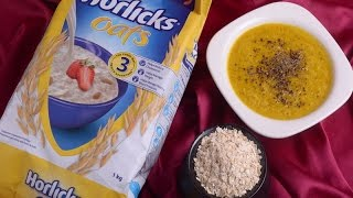 Horlicks Oats with Pumpkin for Special Meal